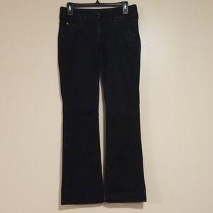 Hudson Jeans Size 27 Black Bootcut